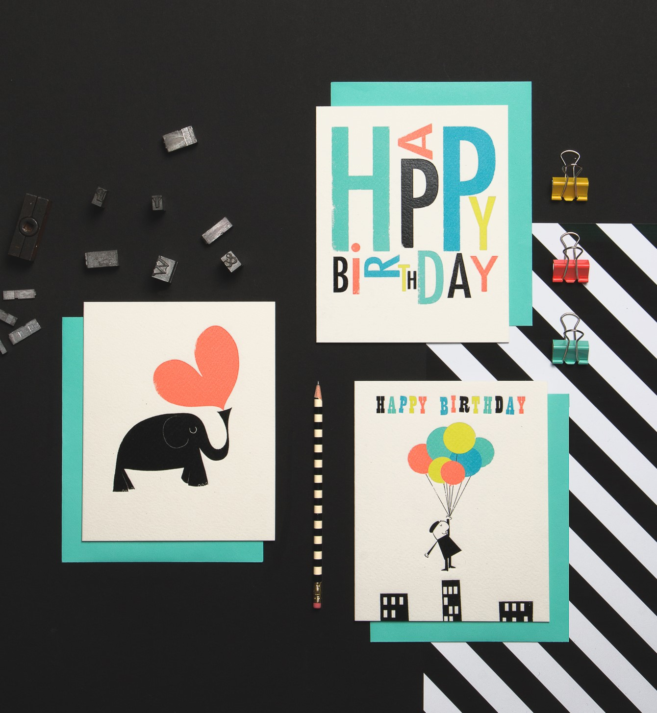 Ink Press Anniversary card collection