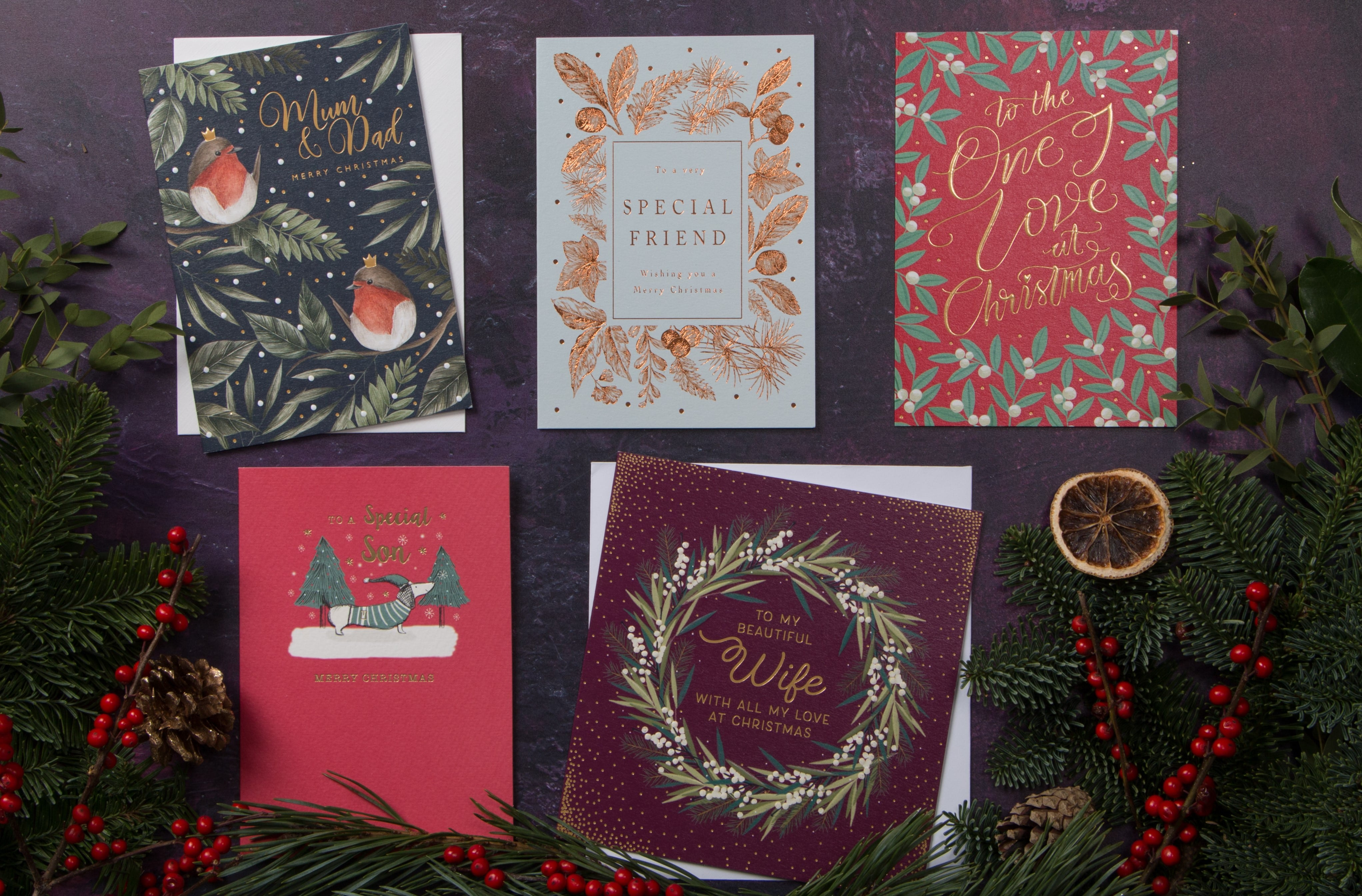 the art file christmas cards